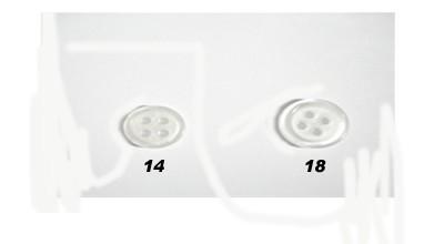 #612 White 4-Hole Shirt