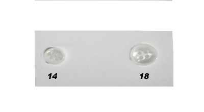 TB-200 White 4-Hole Pearl Like