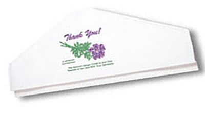 "Garment Covers ""THANK-YOU"" 20"" Glue Top (BOX:2500"