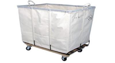 Laundry Truck (10 Bushel) White Canvas