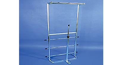 Combination Bagger Rack & Jack Fits 3 Rolls of Poly